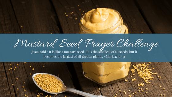 Mustard Seed Prayer Challenge