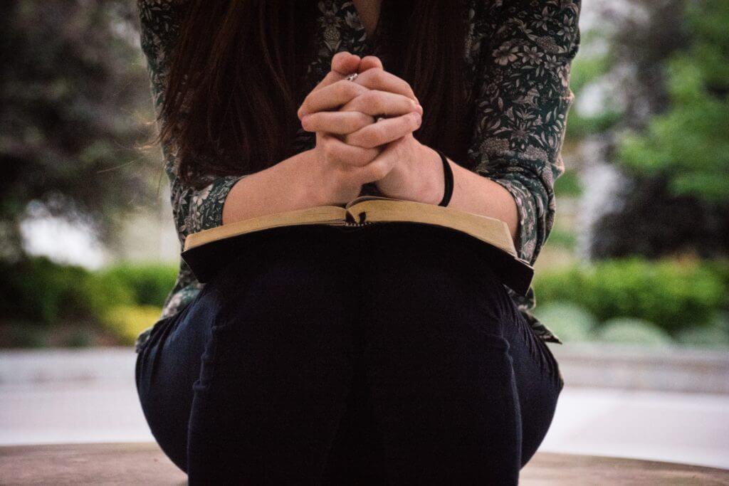 Praying for someone