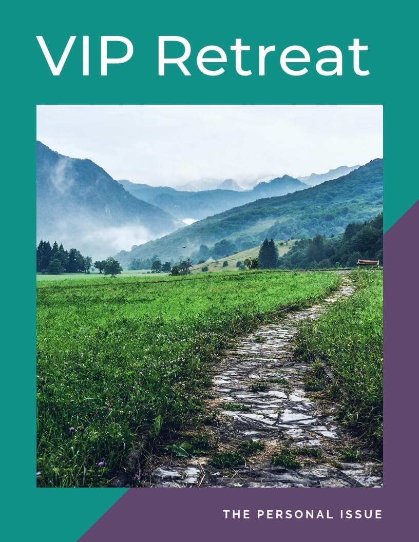 Personal VIP Retreat Cover