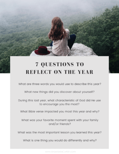 7 Questions to Reflect